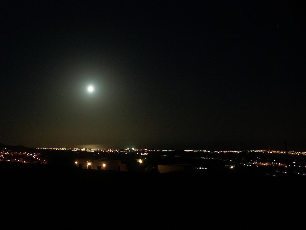Lanzarote, Blick von La Asomada 2006
