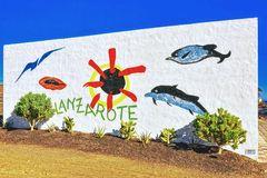 Lanzarote en la pared