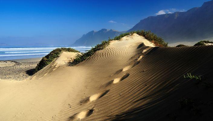 Lanzarote - Playa de Famara