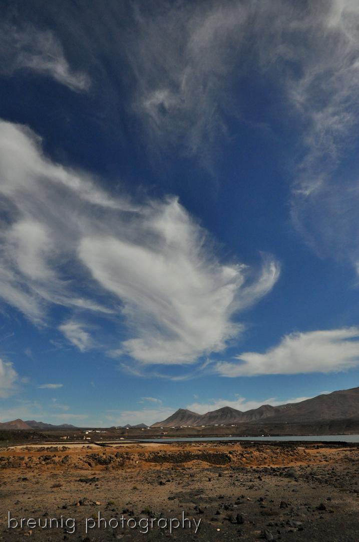 lanzarote sky - january 2013
