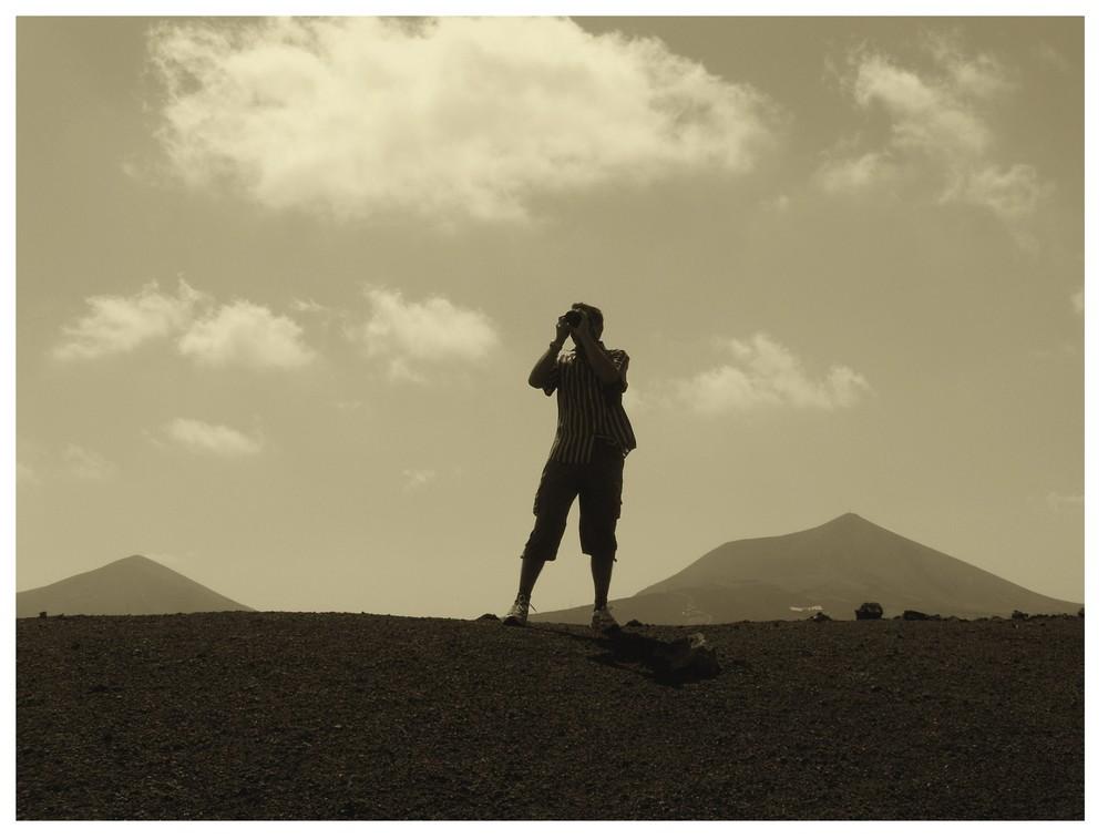 Lanzarote Wüste