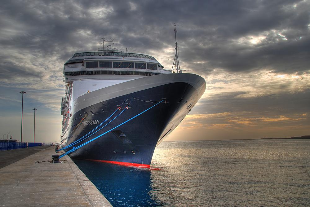 Lanzarote XIII - Rotterdam im Hafen von Arrecife