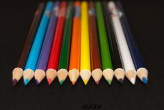 lanzas de colores