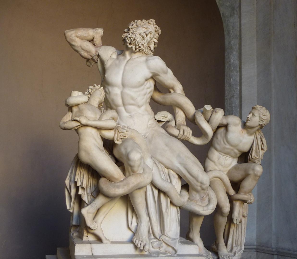LAOCOONTE siglo I d.C.