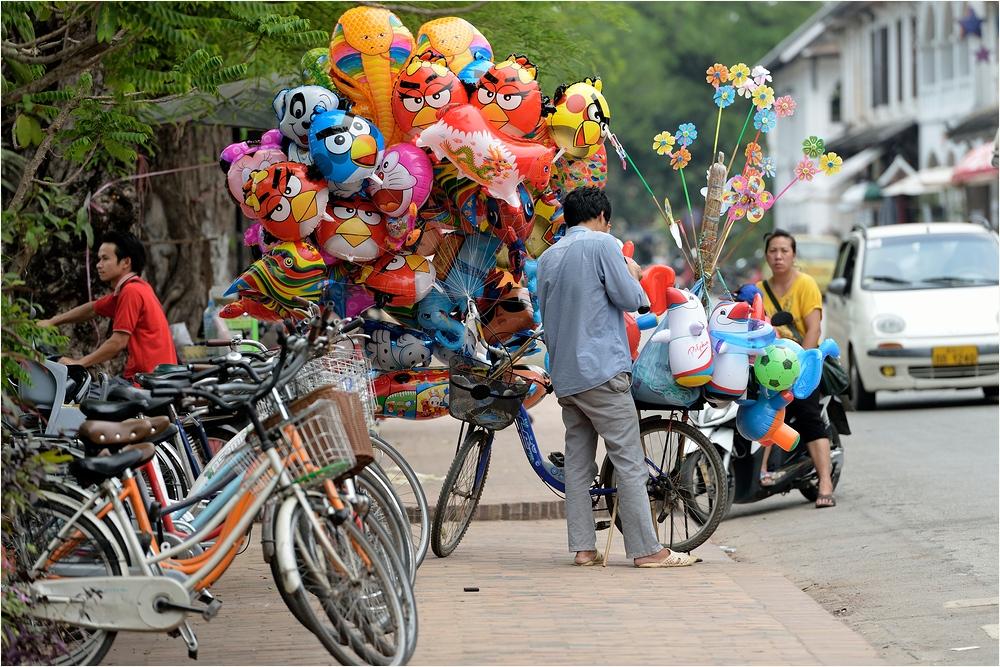 Laos Balloons
