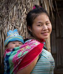 Laotisches Mutterglück