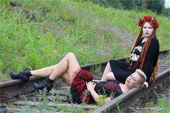 LaPaDu Modelshooting .....  Wibke und Abby