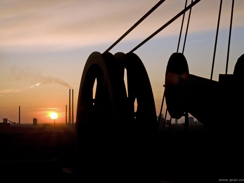 LaPaDu Sonnenuntergang auf dem Hochofen