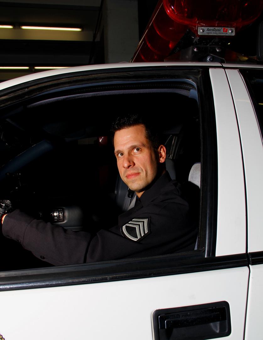 LAPD Re-enactment