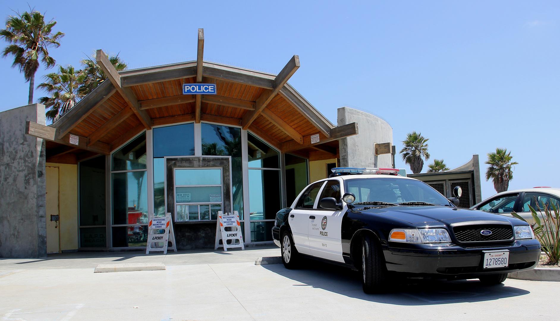 LAPD Venice Beach
