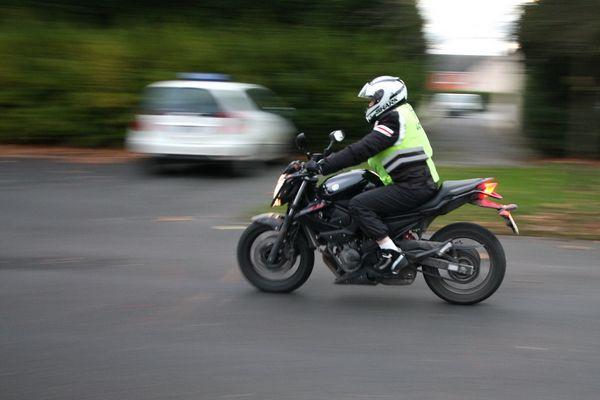 L'apprentissage de la moto