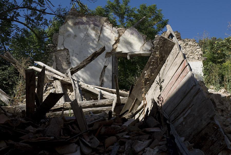 L'Aquila, die Hauptstadt der Abruzzen/ein Jahr nach dem Erdbeben