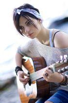 Lara playing