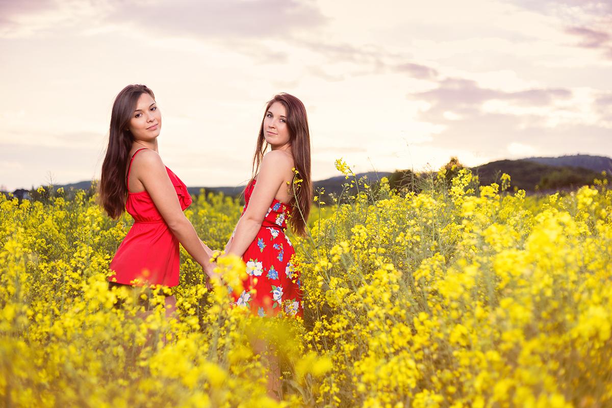 Lara und Vanessa