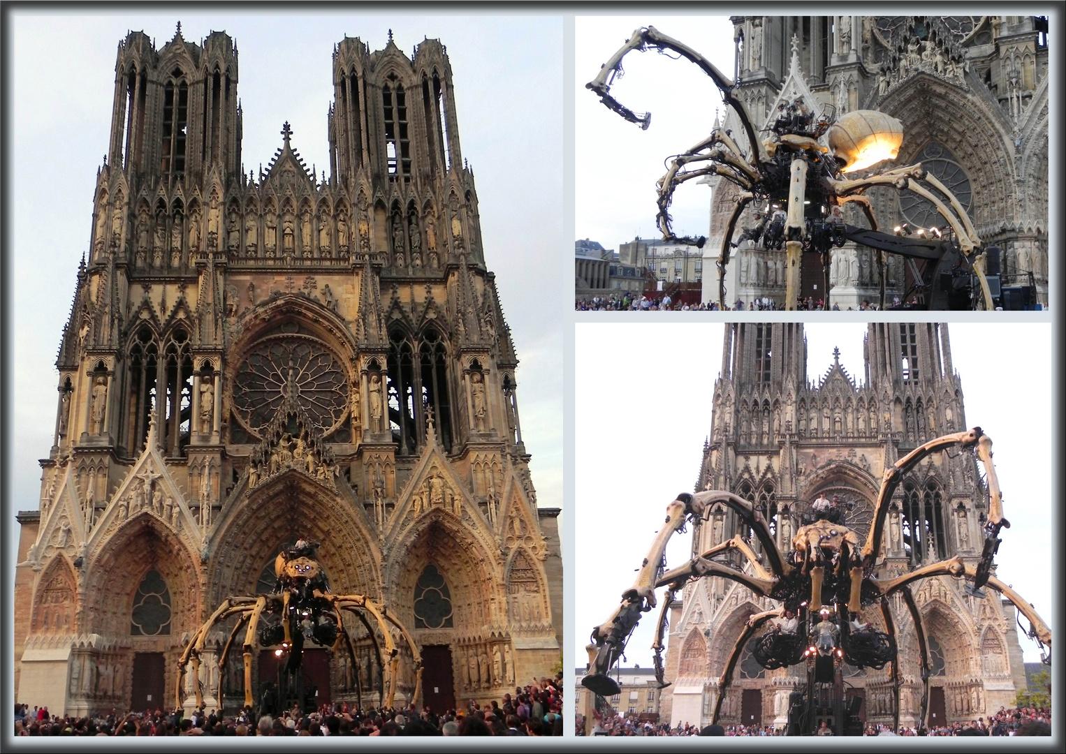 L'araignée géante de la Cie la Machine à Reims