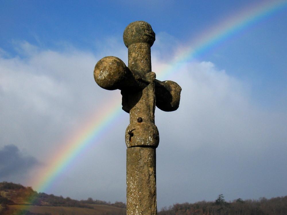 L'arc-en-croix