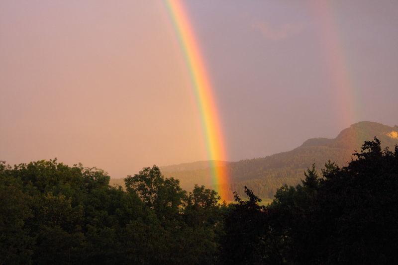 l'arcobaleno della Svevia