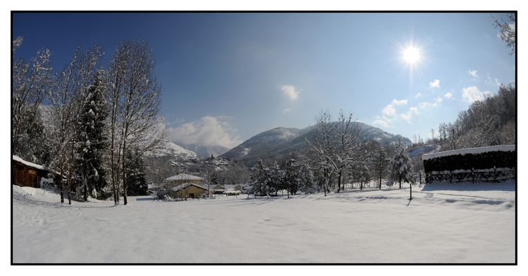 L'Ariège sous la neige