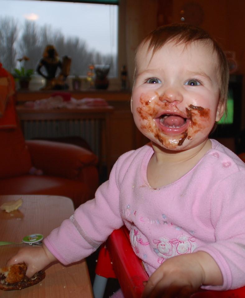 Larissa mag Schkolade