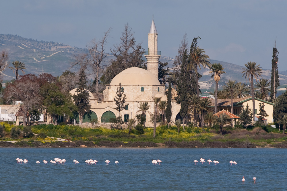 Larnaca - Tekke Moschee am Salzsee
