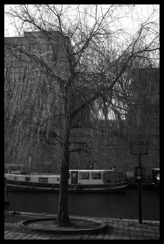 L'arrêt du canal.