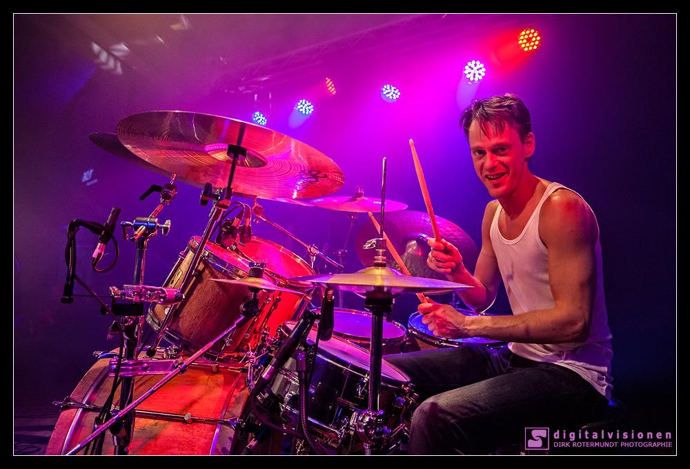 Lars Neidel - Drummer bei den Rock'n Roll Deputyz
