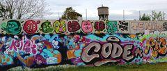 L'Arte colorata dei graffiti romani...contro la tristezza dei muri grigi...