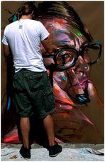 l'artista di strada