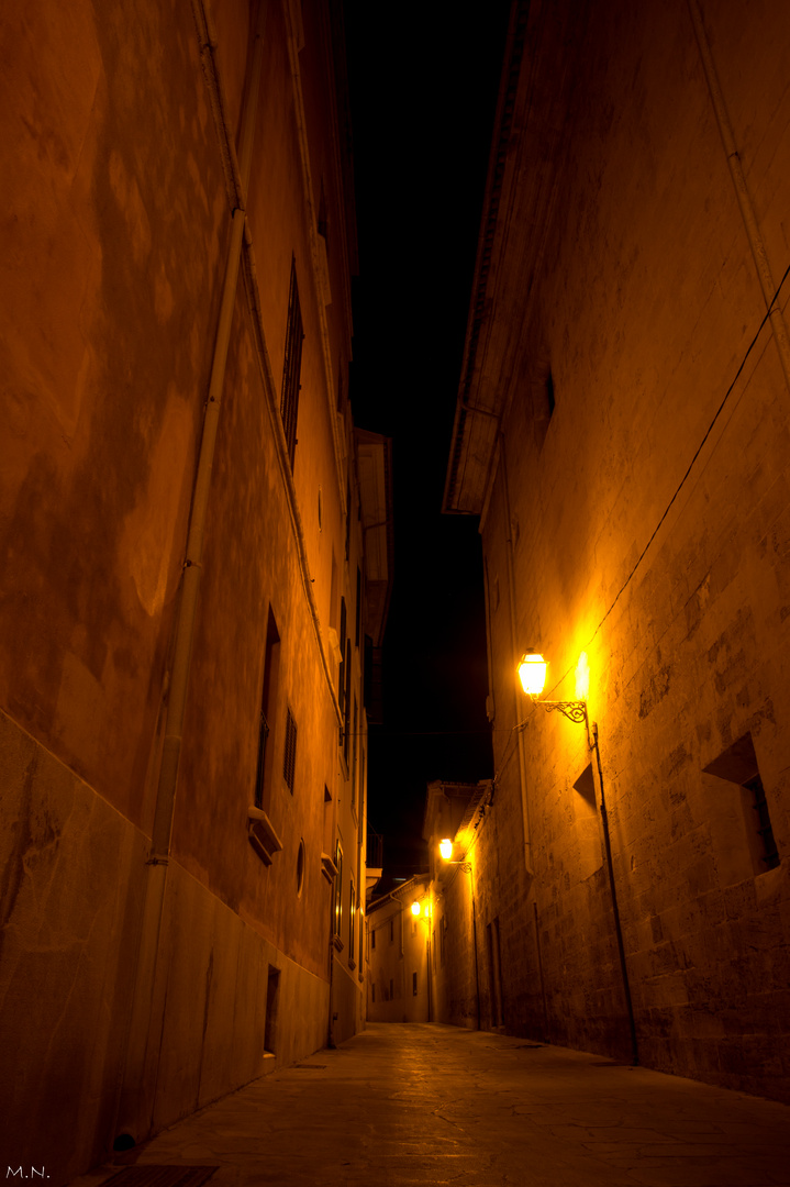 Las calles de Mallorca.