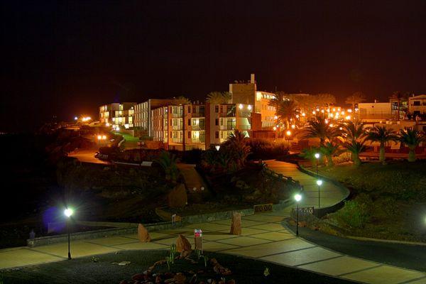 Las Coloradas bei Nacht