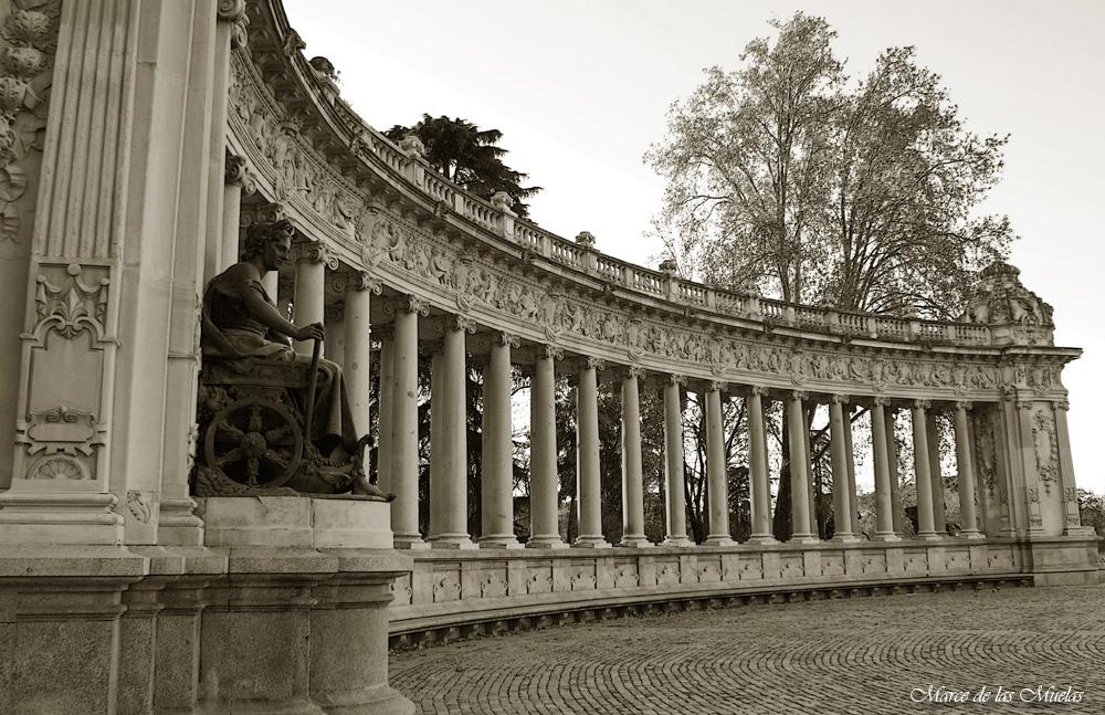 ...las columnas...