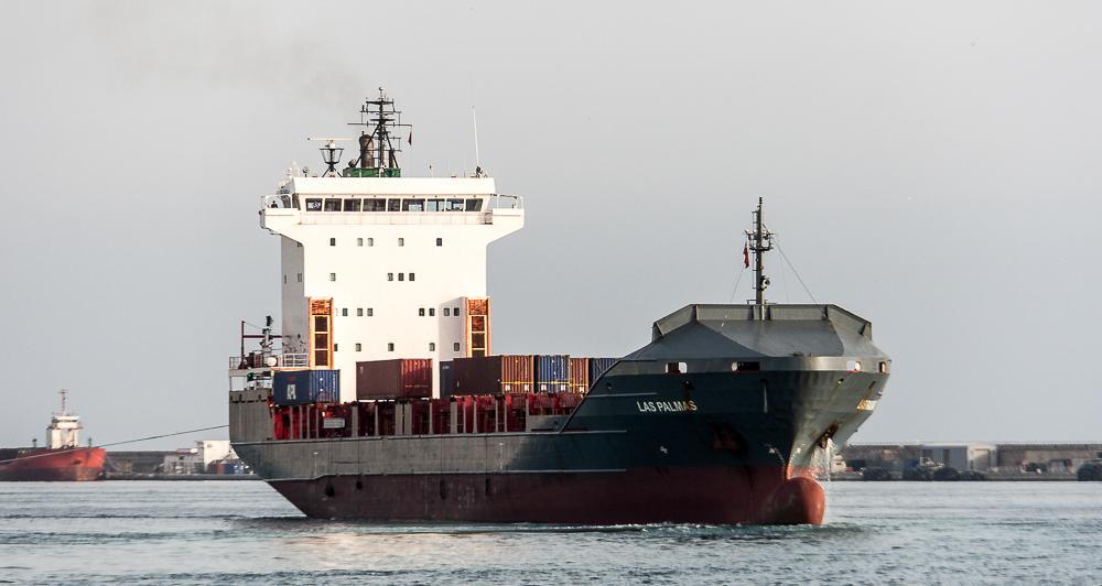 Las Palmas im Hafen von Gibraltar