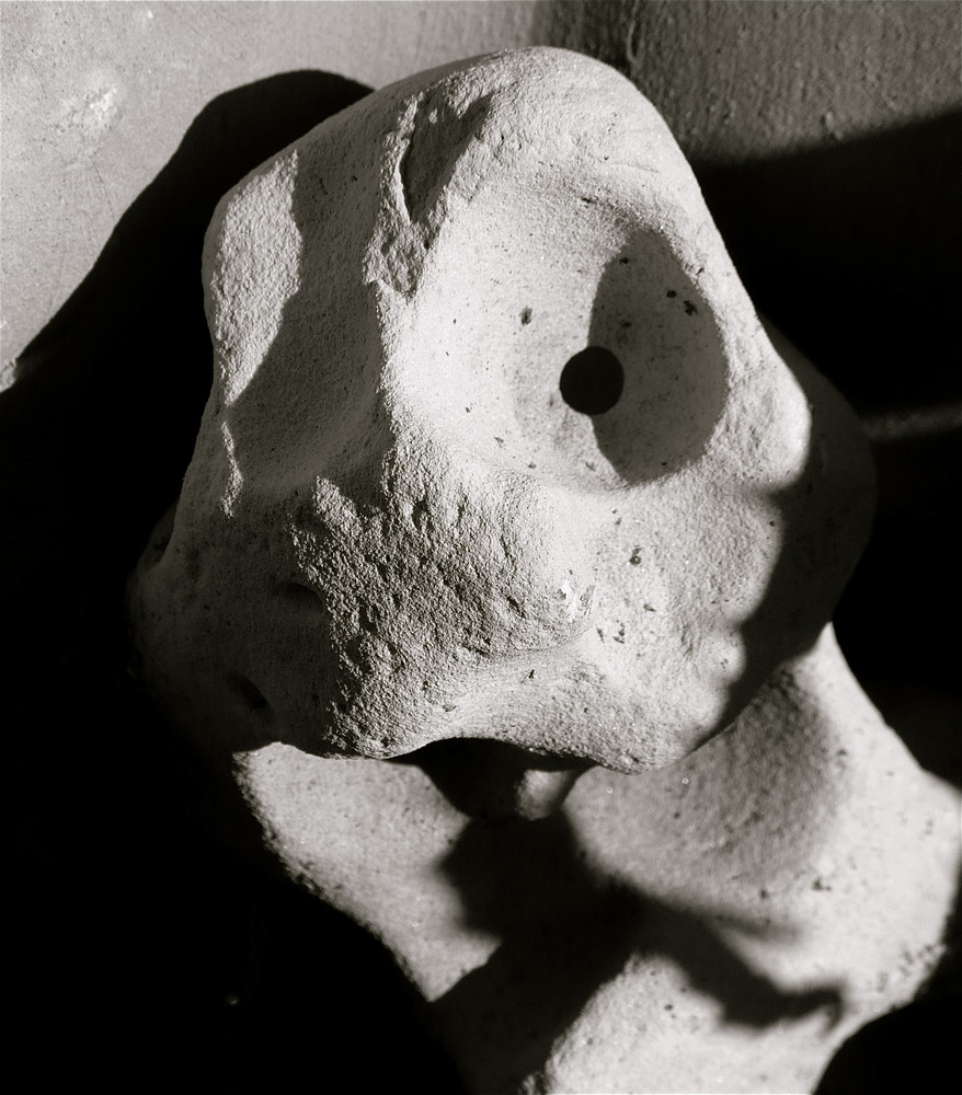 Las piedras pueden hablar incluso sonreir....