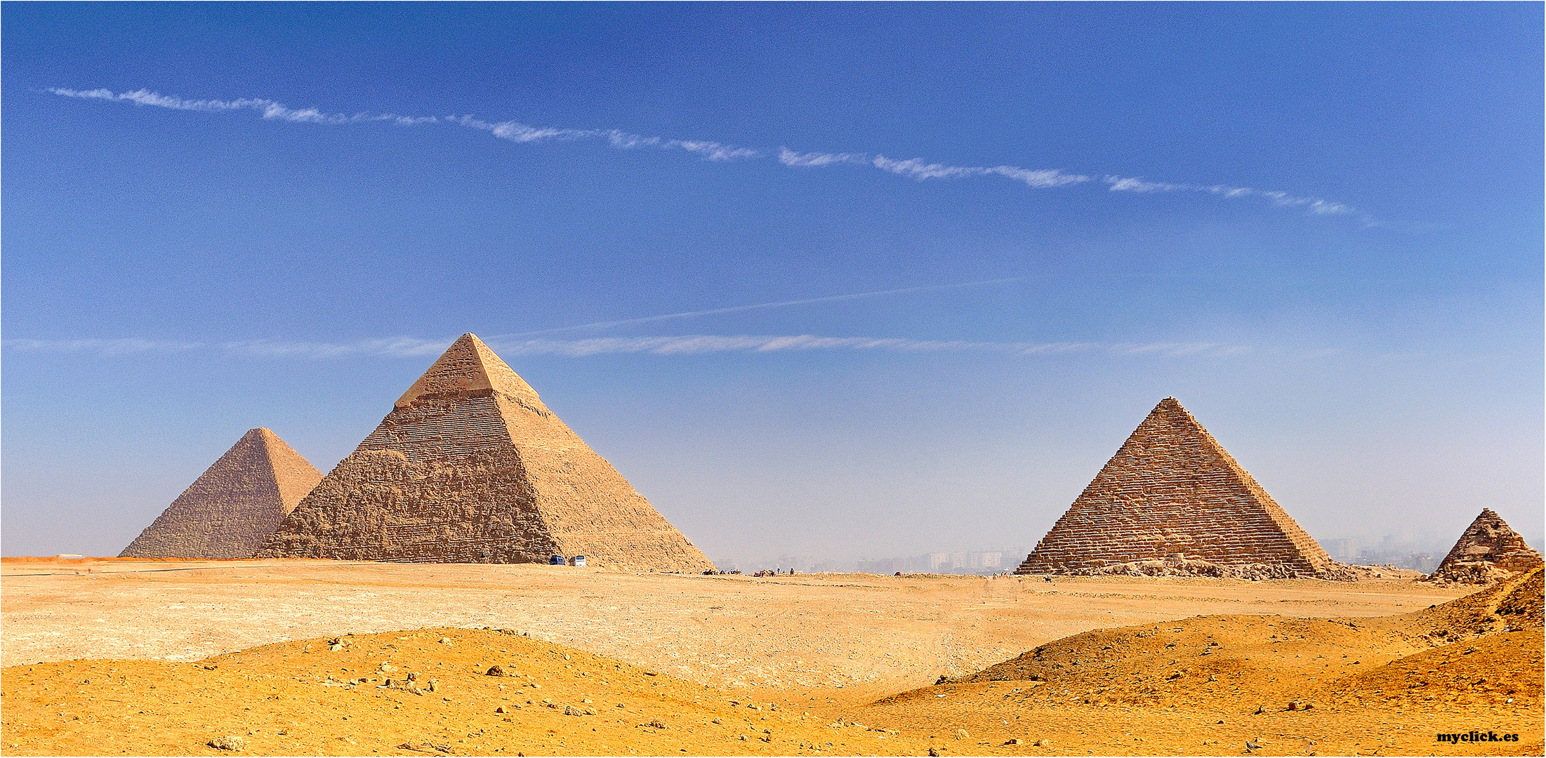 LAS PIRAMIDES DE GUIZA -EGIPTO