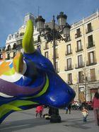 Las vacas se toman a Madrid