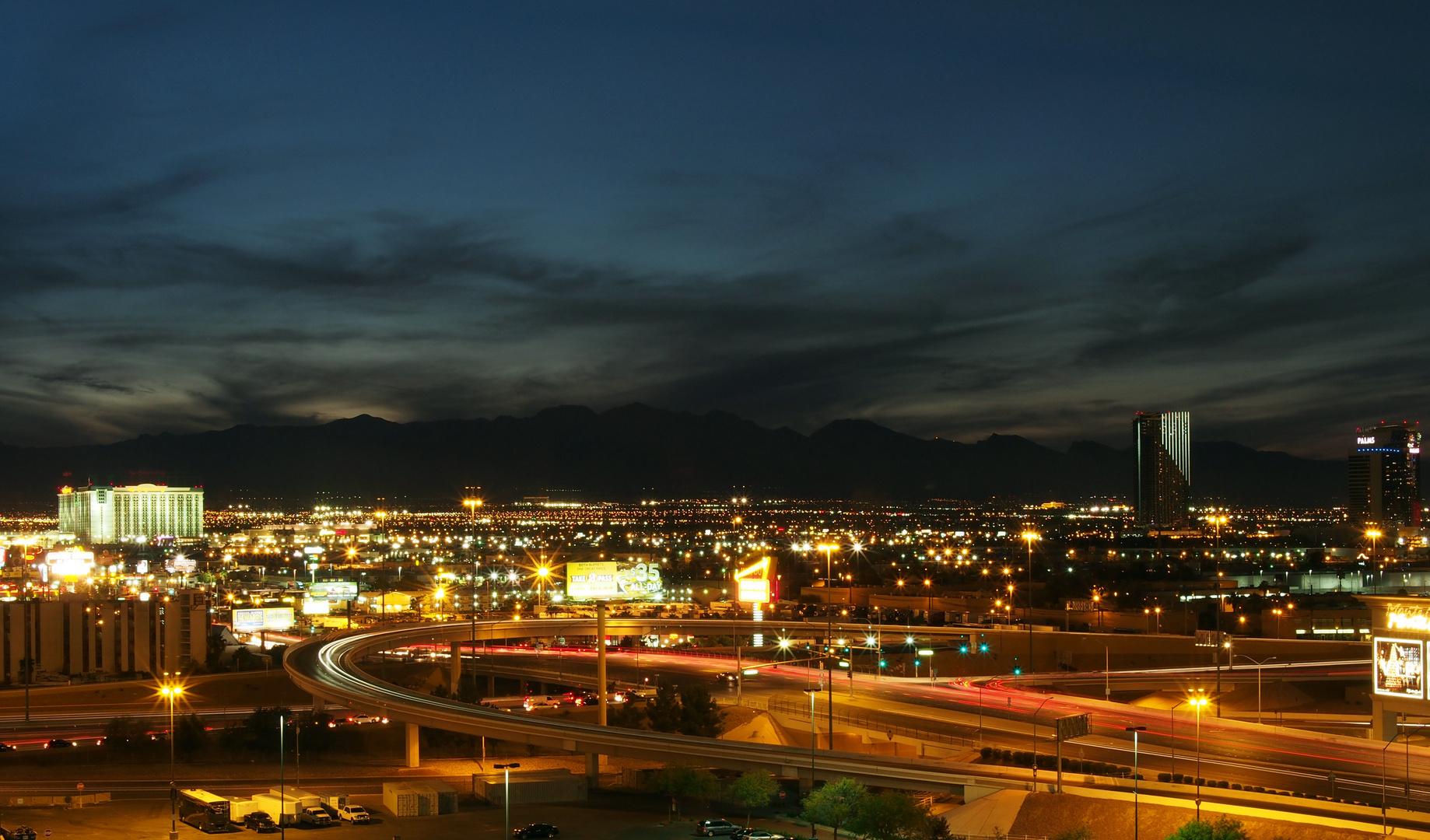 Las Vegas bei Nacht (II)