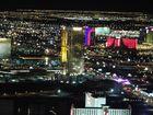 Las vegas bei Nacht vom Stratosphere Tower