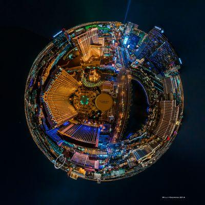 Las Vegas - Blick vom Eiffelturm