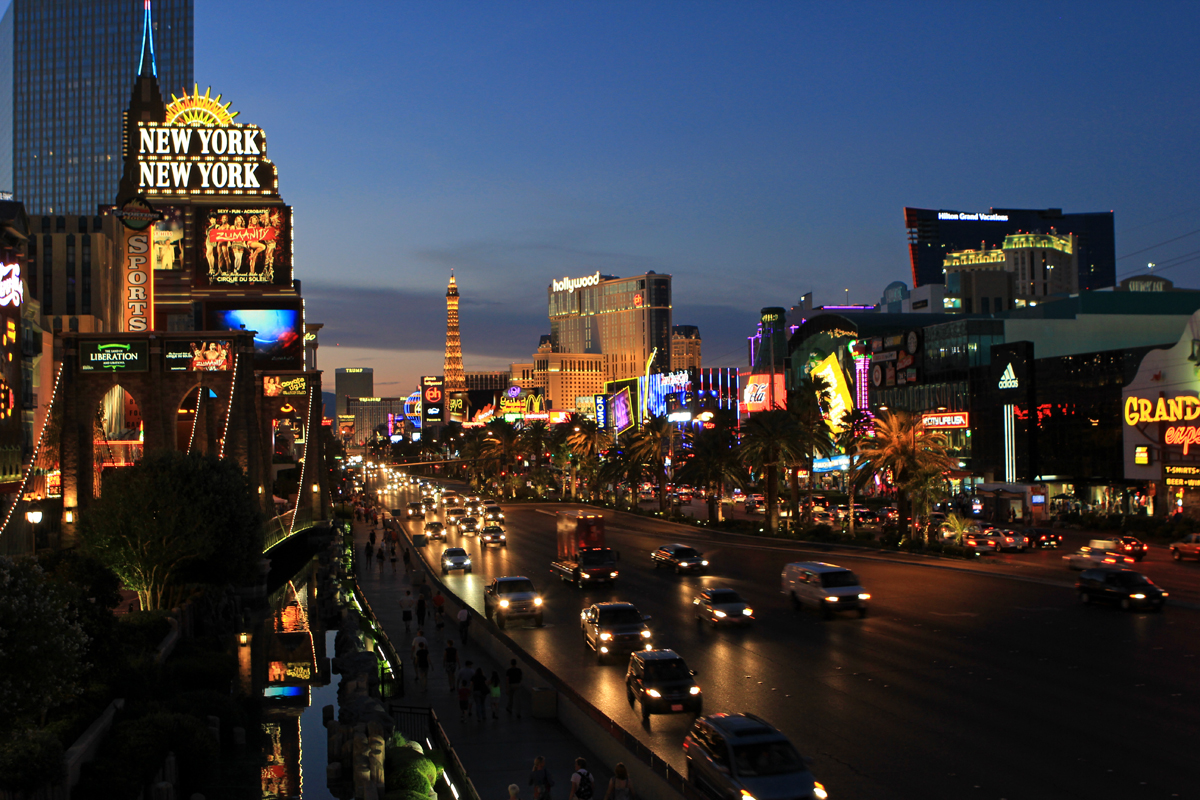 Las Vegas - die Stadt der Lichter