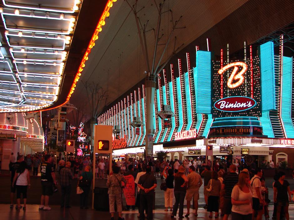 Las Vegas: Eine sinnenbetörende Lärm und Lichterwelt