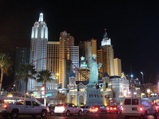 """Las Vegas """"Le Strip"""" Fevrier 2008"""