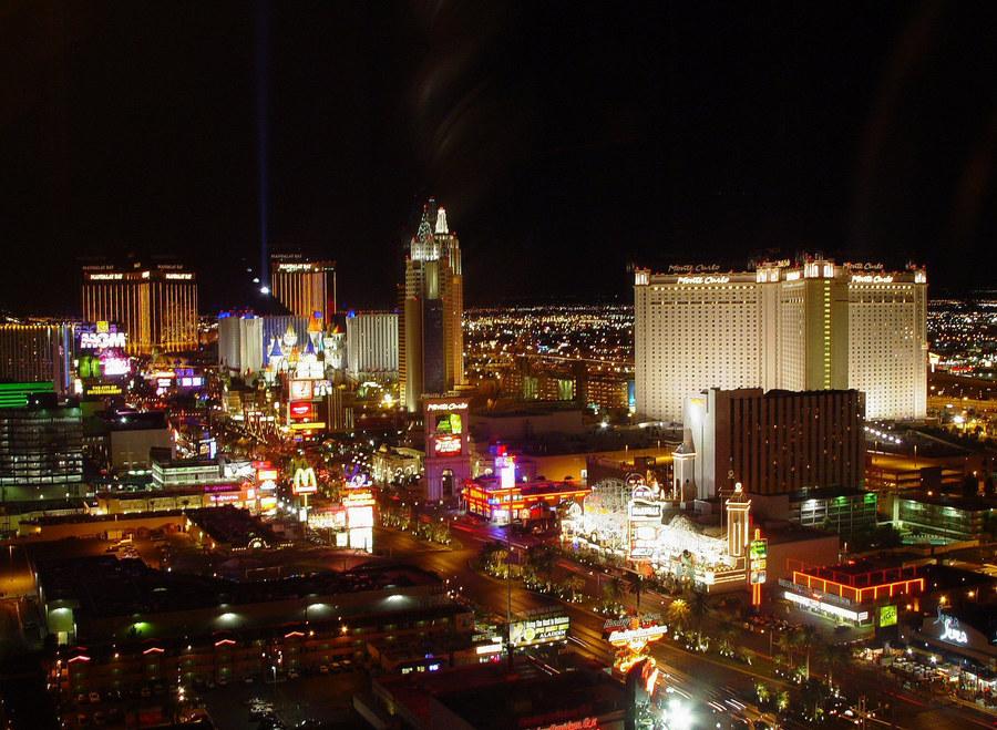 Las Vegas, südlicher Teil vom Strip