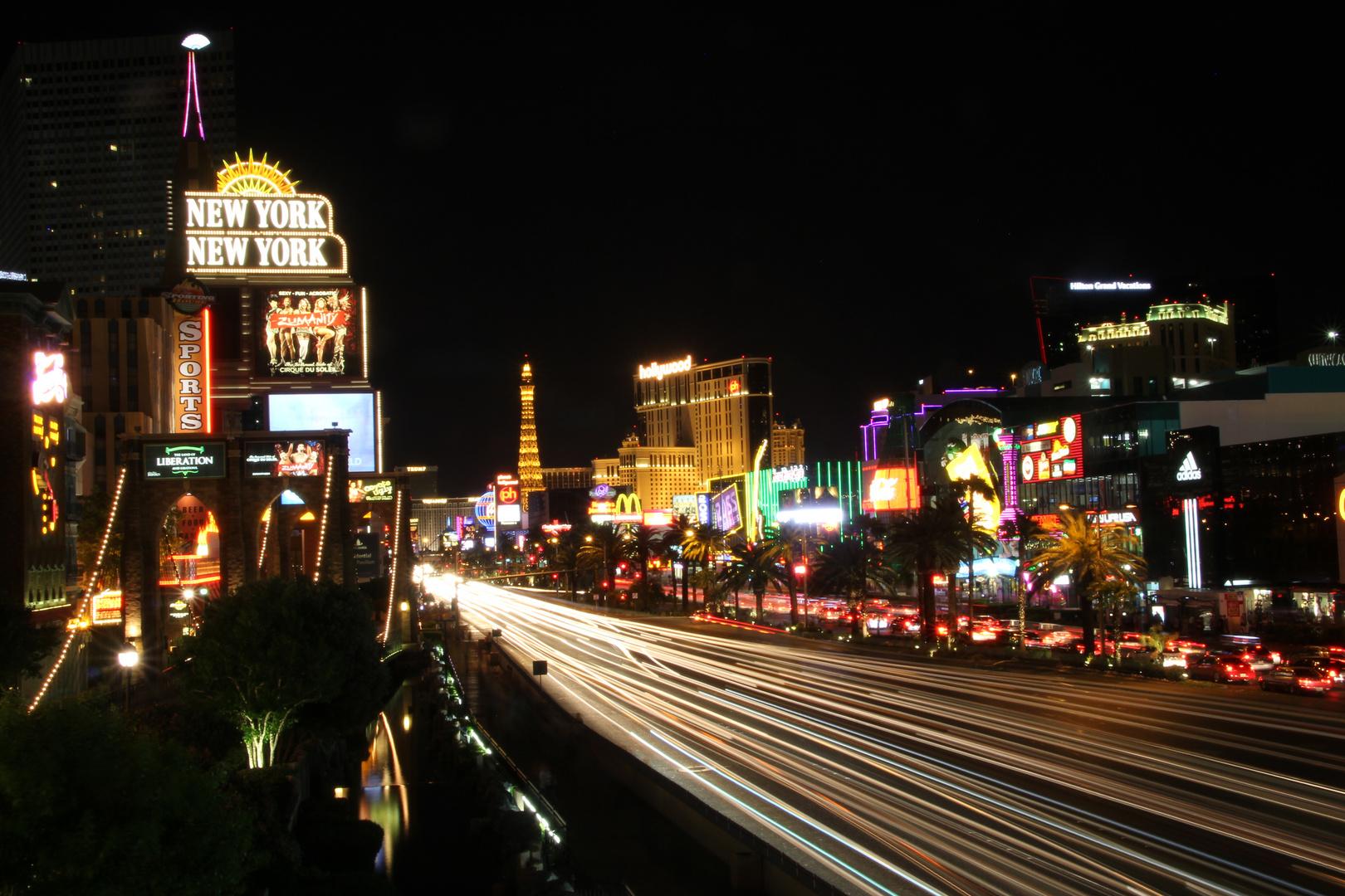Las Vegas the Strip by Night