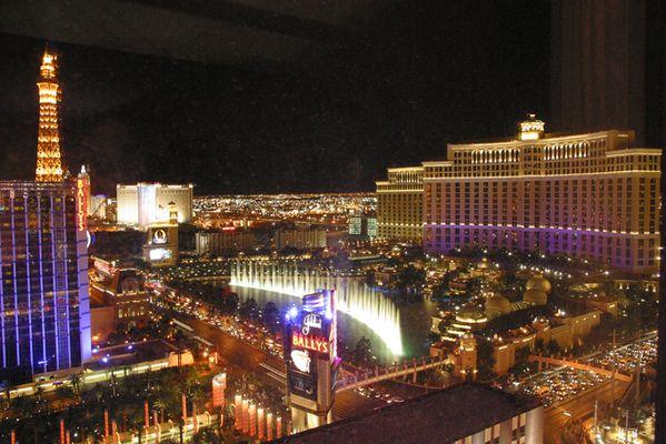 Las Vegas wird bei Nacht erst schön...