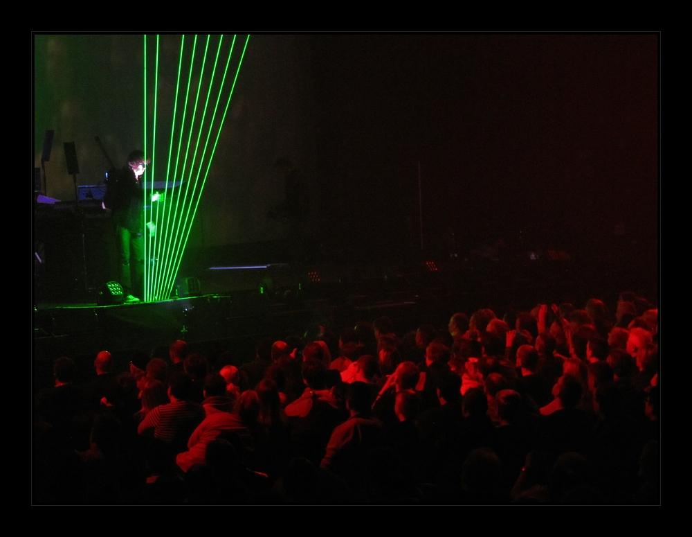 Laser Harfe