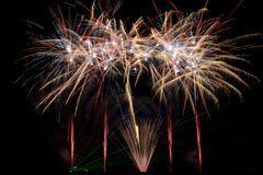 Laser meets Feuerwerk