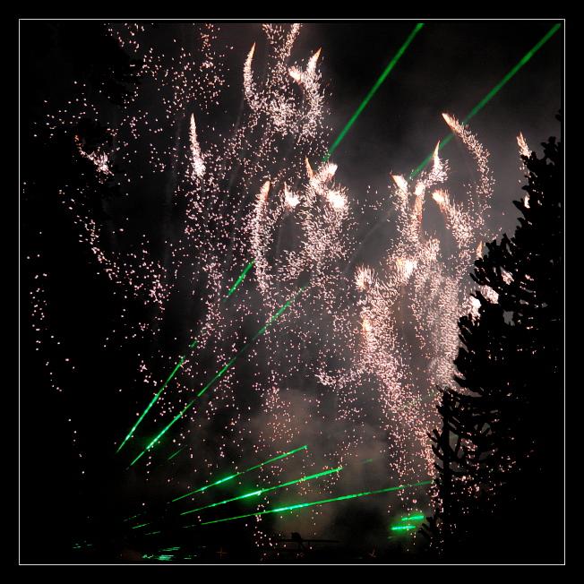 Laser trifft Barock