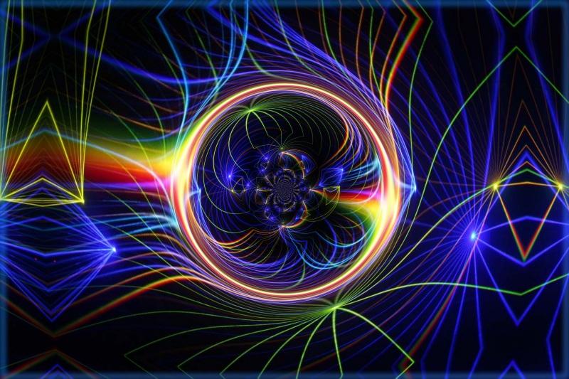 """""""Laser-World"""" ©by stefan oerter"""