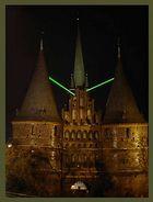 Laserlight vom Holstentor