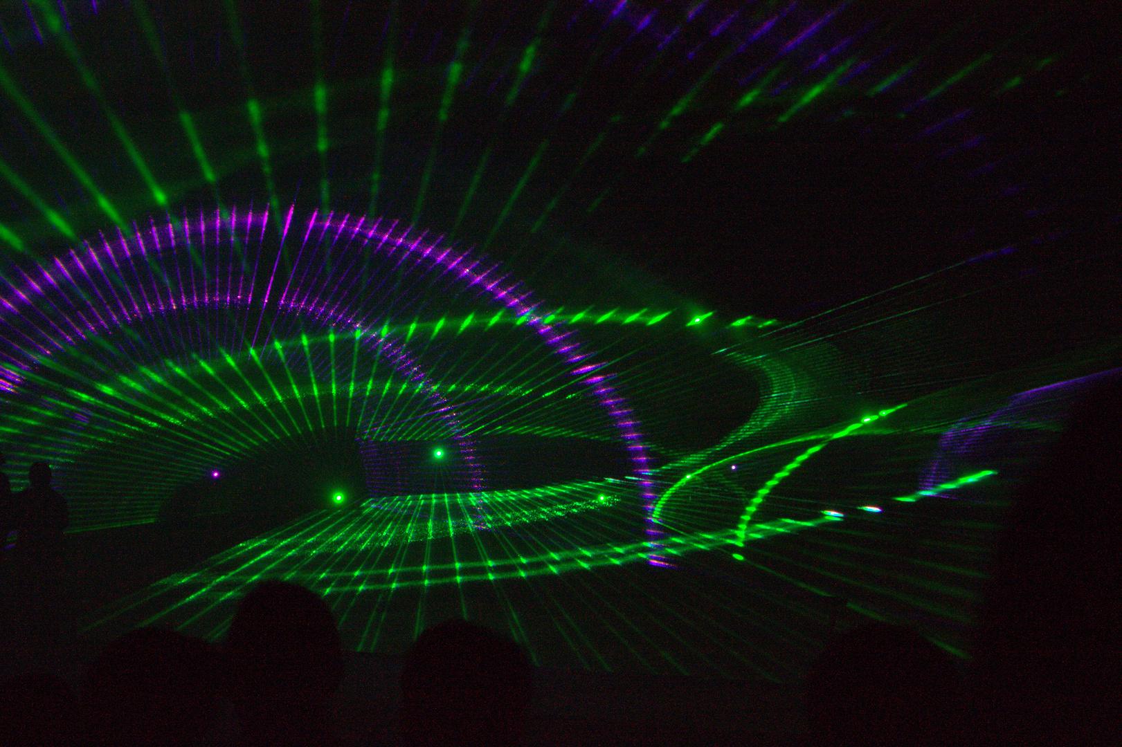 Laserschow Flößerfest Finowfurt